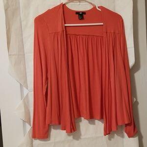 H&M, sz S orange wrap, EUC